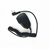 walkie-talkie skulder mikrofon klar lyd mikrofon og slip resistente egnet til kendood Baofeng 365 wouxun TYT