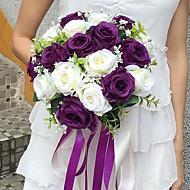 """Bryllupsblomster Rund Roser Buketter Bryllup Fest & Aften Sateng 11.02""""(Ca. 28cm)"""