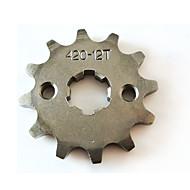 motor lifan 420-17mm-12t dente de mini quad do motor set bicicleta da sujeira ATV roda dentada