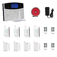 LCD Wirless GSM/PSTN Home House Office Security Burglar Intruder Alarm System