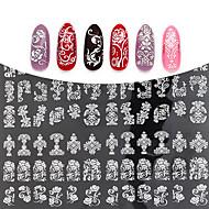 1pcs Nail Art matrica 3D-s körömmatricák smink Kozmetika Nail Art Design