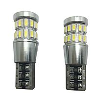 2pcs 12V 6W t10 led pode-bus lâmpada LED readling lâmpada levou luz da placa de licença