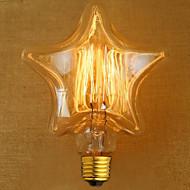 Edison sárga fény dekoráció retro volfrám lámpa fényforrás (E27 40W)
