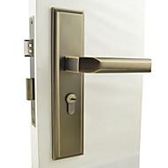 antic de blocare a ușii din alamă, de blocare a manetei, leverset, maneta de ușă cu 3 chei