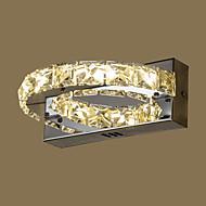 AC 85-265 8 Led Integrado Moderno/Contemporâneo Pintura Característica for Cristal,Luz Ambiente Luz de parede