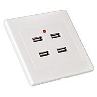 4-Port-Vier-Port-USB-Buchse