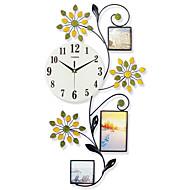 Moderne/Contemporain Niches Horloge murale,Autres Verre / Métal / Polyrésine 13 Intérieur Horloge