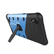 のために スタンド付き / 超薄型 ケース バックカバー ケース 鎧タフケース ハード PC のために LG LG K10 / LG K7 / LG V20 / LG X Power