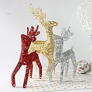 3colour рождественские украшения подарки роль ofing Рождественская елка украшения Рождественский подарок Рождественский олень