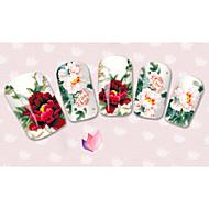 3D Nail Stickers - Muuta - Sarjakuva / Kukka / Lovely - Sormi / Varvas - 15cm x 10cm x 5cm (5.91in x 3.94in x 1.97in) - 40PCS