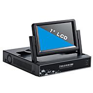 7 인치 4 채널 960p / 720p의 HDMI 및 P2P는 LCD NVR과
