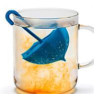 Coador Diário Chá Novidades Anti-Vazamento,Silicone