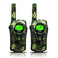 hær for børn walkie talkies 22 kanaler og (op til 5 kilometer i åbne områder) armygreen walkie talkies til børn (1 par) t668