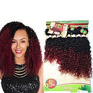 Nyanse Brasiliansk hår Dyp Bølge 6 måneder 1 Deler hår vever