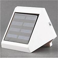 4 levou luz de parede lâmpada de escadas energia solar levou luz da noite luz de segurança