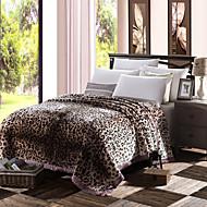 Knuffelfleece Rood Meerkleurig,Gedrukt Innovatief 100% Polyester dekens W180 x L200cm  W200 x L230cm