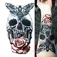 1 Acțibilde de Tatuaj Serie de Animale Serie de totemuri Waterproof 3-DDame Bărbați Adolescent tatuaj flash Tatuaje temporare