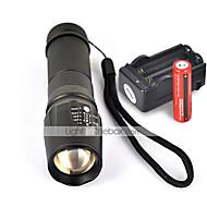 W-878 LED-Zaklampen Handzaklampen LED 2200 Lumens 5 Modus Cree XM-L T6 Antislip-handgreep voor Kamperen/wandelen/grotten verkennen
