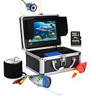 Mountainone 30m 7 '' couleur numérique lcd 1000tvl hd dvr enregistreur caméra de pêche sous-marine étanche