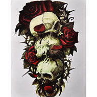 1 Acțibilde de Tatuaj Serie de Flori ModelDame Bărbați tatuaj flash Tatuaje temporare