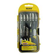 Rewin nástroj 14pcs Sada hobby nůž