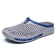 Férfi cipő Poliészter Tavasz Nyár Hole cipő Klumpák és papucsok Kompatibilitás Hétköznapi Fekete Szürke Tengerészkék