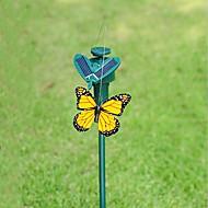 Tuin levert zonne-energie dansende vliegende vlinder voor tuin decoratie willekeurige kleur