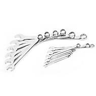 Sheffield Schraubenschlüssel 12 Stück alle poliert Dual-Use-Pull s025027 Auto-Reparatur-Tools