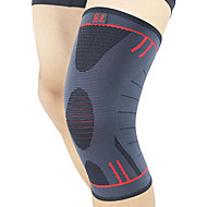 Knee Brace for Leisure Sports Cycling/Bike Running Men Breathable Easy dressing Compression Protective Sports Outdoor Lycra Spandex