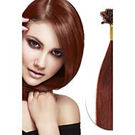 100s brazilian virgin real remy ludzkie włosy u końcówka fuzja włosy przedłużanie paznokci końcówki włosów rozszerzenie keratyny