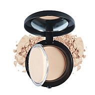 1Pc Pressed Powder Face Makeup Cream Foundation Matte