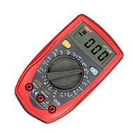 uni-t® ut33b 자동 범위 조정 디지털 멀티 미터 AC 전압 검출기 휴대용 옴 / 볼트 테스트 미터 멀티 테스터 백라이트 LCD 디스플레이