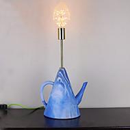 40 Moderno/ Contemporâneo Luminária de Escrivaninha , Característica para Proteção para os Olhos , com Cromado Usar Em Linha Interruptor
