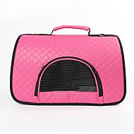 Кошка Собака Переезд и перевозные рюкзаки Слинг Животные Корпусы Компактность Дышащий Твердый Лиловый Пурпурный Коричневый Красный Розовый