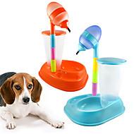 ネコ 犬 フィーダ ペット用 ボウル&摂食 携帯用 オレンジ イエロー ローズ ブルー