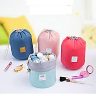 1個 洗面用具バッグ 化粧ポーチ 荷物整理 防水 折り畳み式 携帯式 のために 女性用 小物収納用バッグ ナイロン-レッド ブルー ピンク ミントグリーン