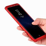 Samsung Galaxy S8 / s8 plusz esetben nehéz pc 360 teljes protect ultravékony hátsó borítón galaxis s8 s8 plus