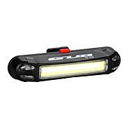 Luzes de Bicicleta Luz Traseira Para Bicicleta LED LED Ciclismo Exterior Impermeável Luz LED USB Bateria de Lítium 100 Lumens USBAzul