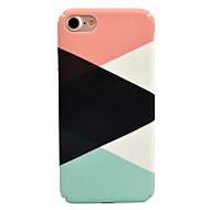 Para maçã iphone 7 7 mais 6s 6 maiúsculas e mais capa de costura padrão decalque cuidado da pele toque material do material caixa do