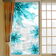 Floral/Botânico Adesivo de Janela,PVC/Vinil Material Decoração de janela