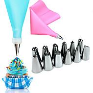 14 Κομμάτια Εργαλεία για Ψήσιμο & Ζύμες Λουλούδι για κέικ Ανοξείδωτο Ατσάλι Ημέρα του Αγίου Βαλεντίνου Γάμος Γενέθλια