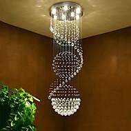 Led de cristal de teto lustres pendente de luz interior de casa pendurado lâmpadas de iluminação lâmpadas para escada do hotel