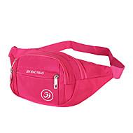 Herren Taschen Frühling/Herbst Sommer Nylon Hüfttasche mit für Sport Marineblau Himmelblau Rot Rosa Violett