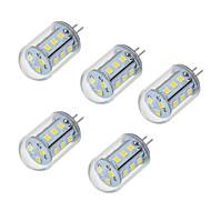 5W LED Doppel-Pin Leuchten T 18 SMD 2835 450-550 lm Warmes Weiß Kühles Weiß V 5 Stück