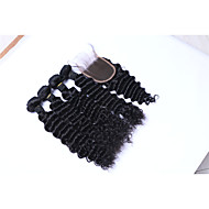 Emberi haj Brazil haj Az emberi haj sző Göndör Póthajak 5 darab Fekete