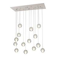 Daljinsko osvjetljenje 14 svjetala dc12v g4 kristalna svjetiljka za privjesak za dnevni boravak dinnning sobna stepenica svjetiljka