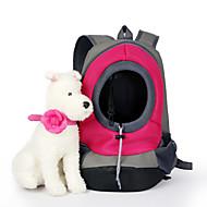 Кошка Собака Переезд и перевозные рюкзаки Животные Корзины Однотонный Компактность Дышащий Желтый Красный Зеленый Синий Розовый