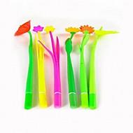 gel Pen Pen Enkel Pen,100% Zacht Silicone Food Standard Vat Zwart Inktkleuren For Schoolspullen Kantoor artikelen Pakje 1