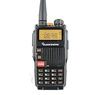 Quansheng tg-k4at (uv) dobbeltbånd tovejs radio5w 128ch fm bærbar tovejs cb ham radio quansheng walkie talkie