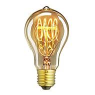 1db a19 60w e27 izzó függő szüreti edison lámpa kávézó dekor világítás ac220-240v